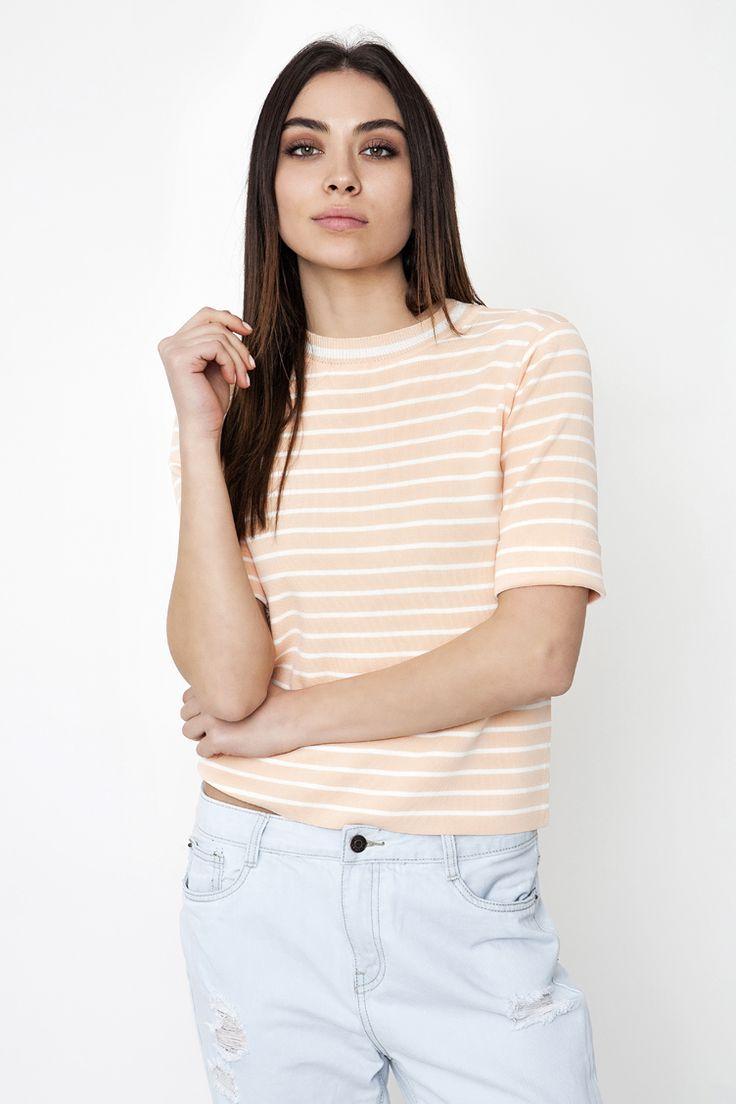 Striped Top - ΡΟΥΧΑ -> Μπλούζες | Made of Grace
