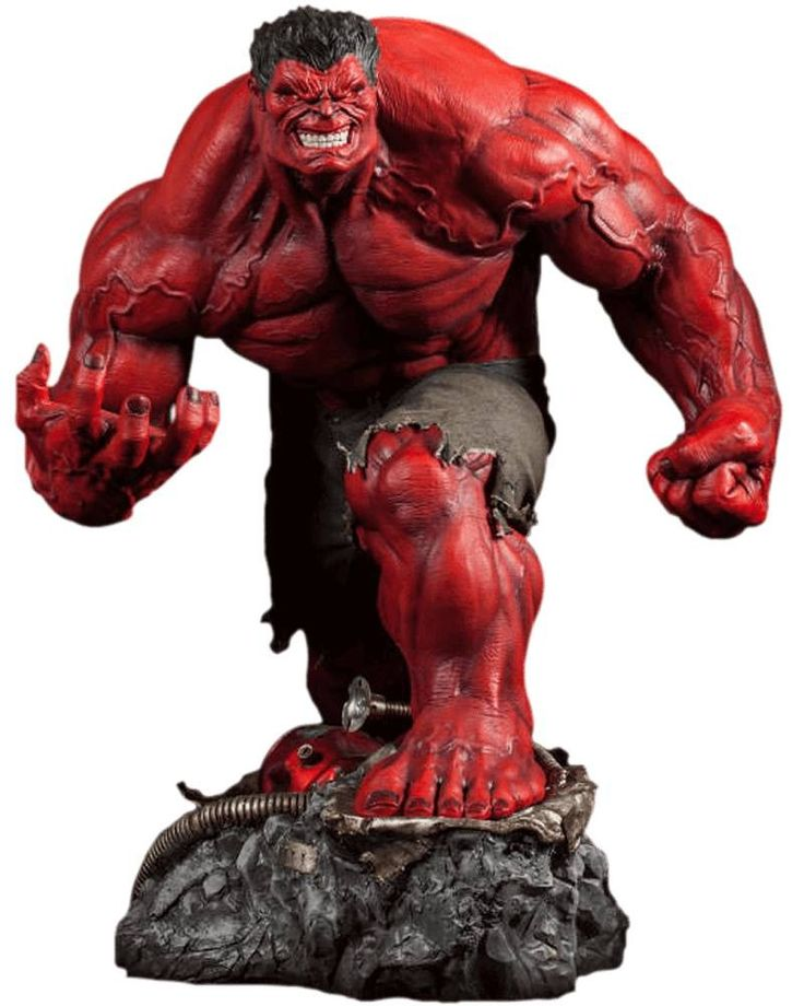 Red Hulk Premium Format - Sideshow Collectibles