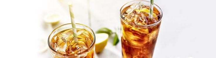 Thé glacé au bourbon