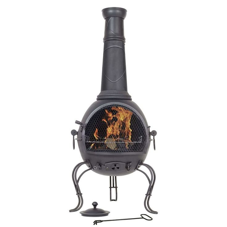 Fire Bowl Pit Home Fireplace Warmth Decoration Indoor Outdoor Grill Patio Black #FireBowlPit
