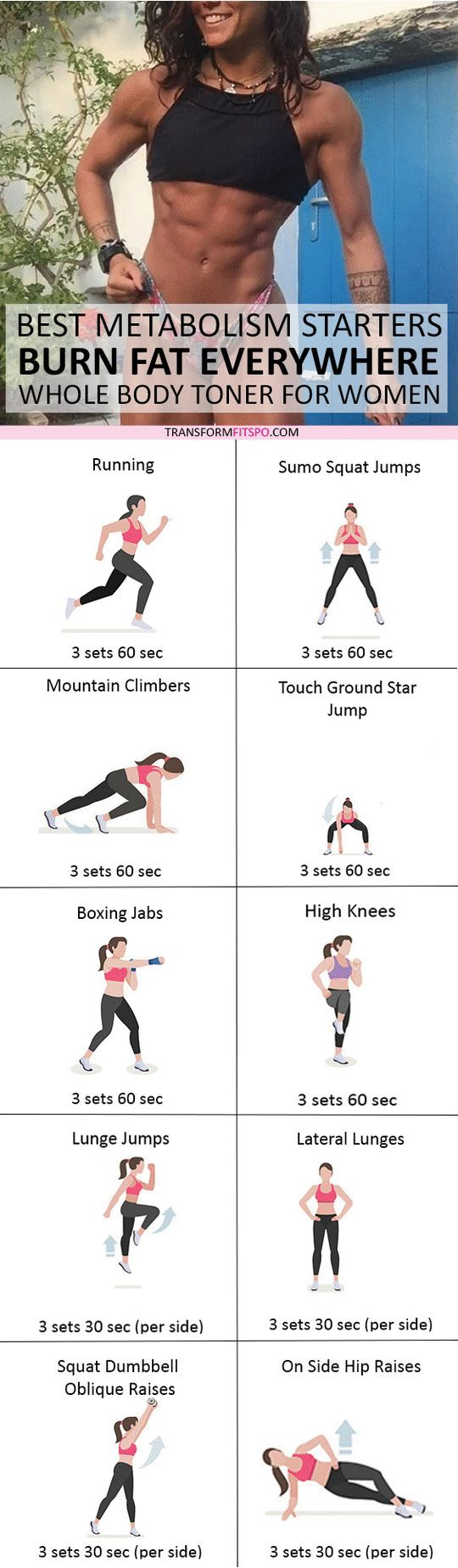 #womensworkout #workout #female fitness Repin and share if this workout got you toned and sexy ! Click the pin for the full workout.