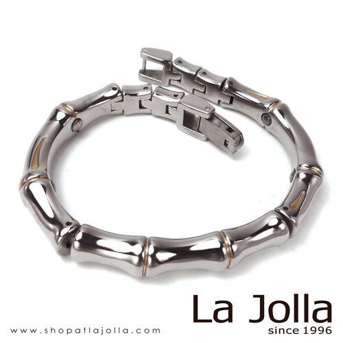 Lucky Bonsai - Titanium bracelet with germanium and magnetite