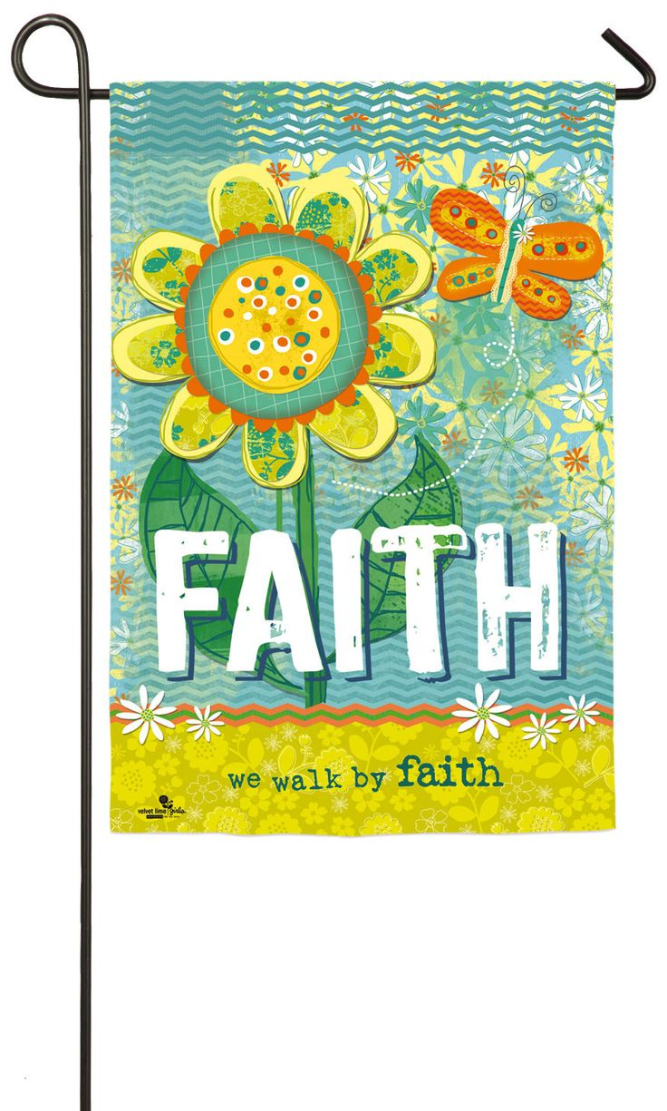 Faith Garden Flag