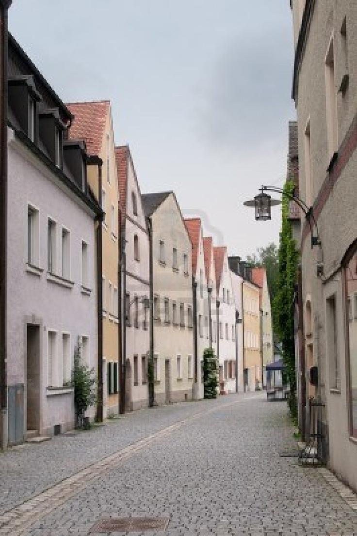 Una calle estilosa de Baviera