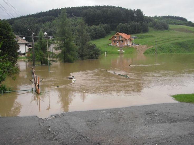 Počas povodne
