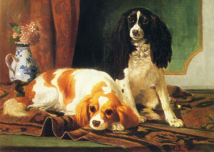 Cavalier King Charles Spaniel King Charles Dogs Large New Blank Note Cards | eBay