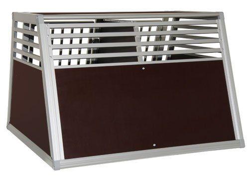 Schmidt-Box Hundebox Doppelbox ALU UMD 100/93/68 GROSS! - http://www.transportbox-katzen.de/produkt/schmidt-box-hundebox-doppelbox-alu-umd-1009368-gross/
