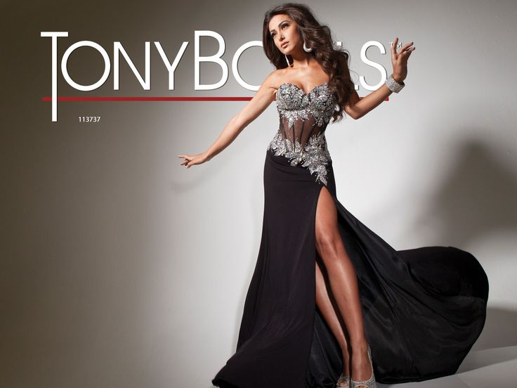 Tony Bowls Paris  »  Style No. 113737  »  Tony Bowls Prom 2013 available at Binns of Williamsburg