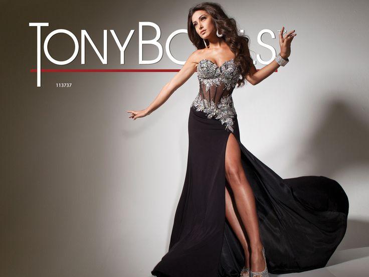 Tony Bowls Paris  »  Style No. 113737  »  Tony Bowls Prom 2013 available at Binns of Williamsburg