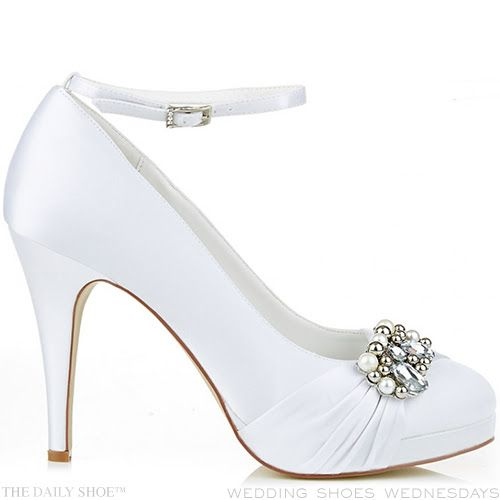 Perfect Wedding Shoes by Anella - trust me on this one!