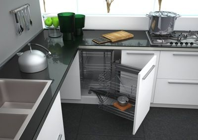 systeme pour coin armoires de cuisine