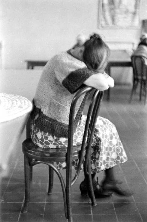 Alfred Eisenstaedt: A Pilgrim elmegyógyintézet lakói (1938) - Mai Manó Ház