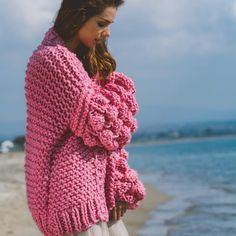 #mulpix WarmUp Pink #handmade #fashion #knit #knitwear #pink #oversize #fluffy #cardigan #cozy #chunky #wool #fashionstyle #stylish #instafashion #photography #photooftheday #free #beach #vibes #life #shop #instashop #mumshandmade #theoriginal