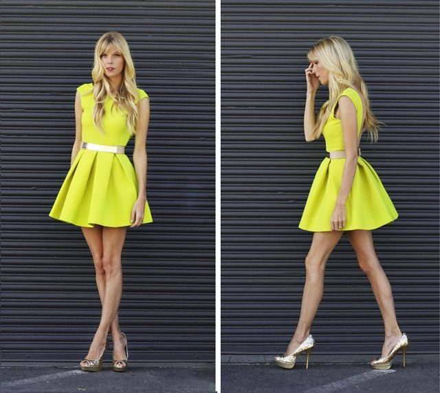 25+ best ideas about Neon dresses on Pinterest | Neon maxi ...