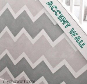 Painting a Funky Entryway wall design using FrogTape | DIY Show Off ™ - DIY Decorating and Home Improvement Blog