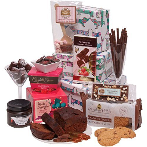Clearwater Hampers Chocolate Indulgence Hamper - Luxury Chocolate Hampers - Perfect For Christmas - The Ultimate Sweet  No description (Barcode EAN = 1235833732647). http://www.comparestoreprices.co.uk/december-2016-3/clearwater-hampers-chocolate-indulgence-hamper--luxury-chocolate-hampers--perfect-for-christmas--the-ultimate-sweet-.asp