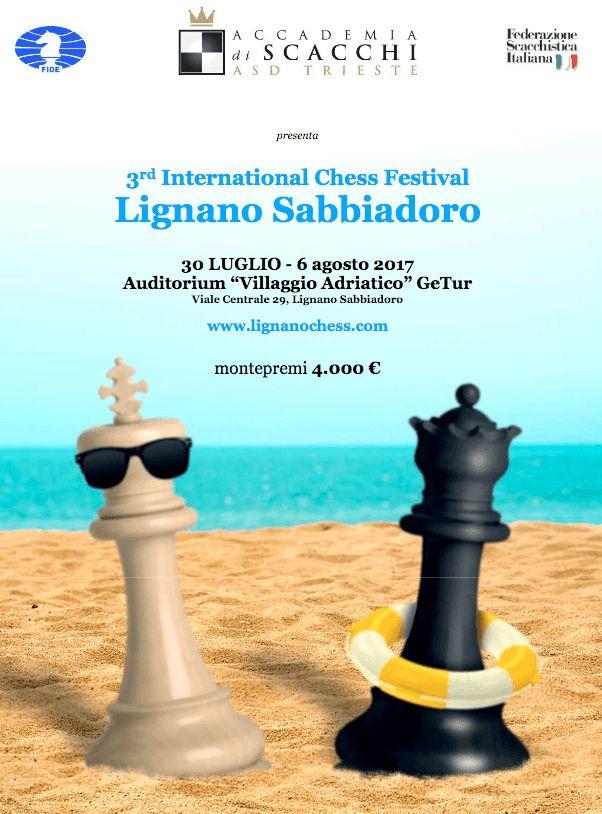 """prego l'auditorium Villaggio adriatico  per info e prenotazioni <a href=""""http://lignano.accademiadiscacchi.it/files/international-chess-festival-lignano-sabbiadoro-2017-it.pdf"""">clicca qui.</a>    <img class=""""alignnone size-medium wp-image-36454"""" src=""""http://www.hotelmonaco.net/wp-content/uploads/2017/07/Schermata-2017-07-25-alle-10.12.55-222x300.png"""" alt="""""""" width=""""222"""" height=""""300"""" />"""