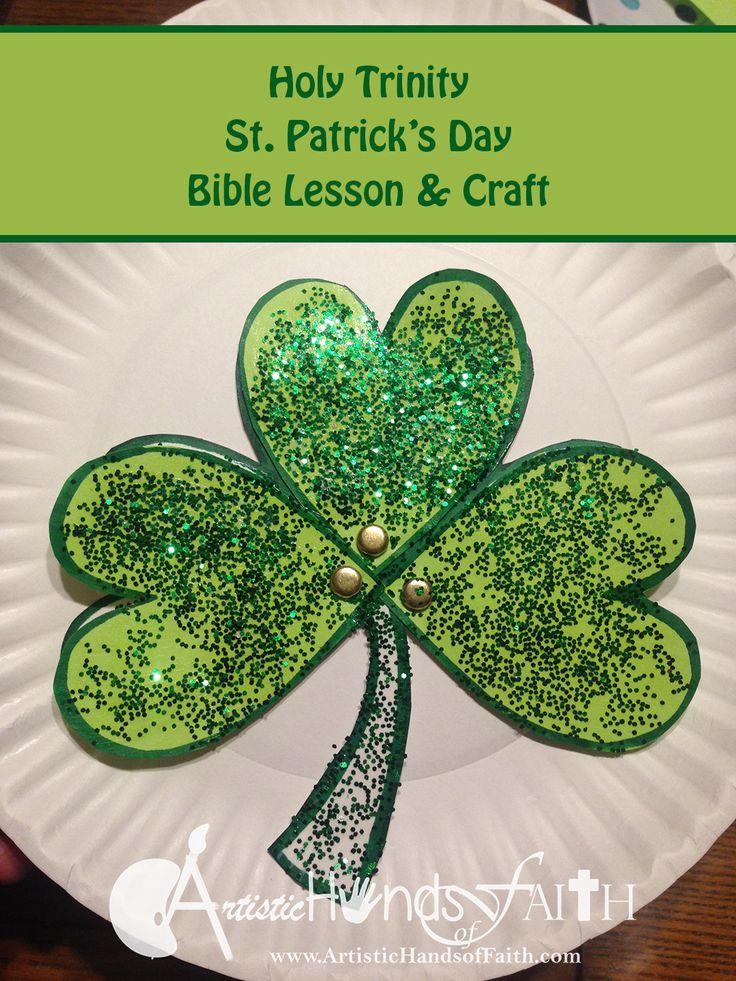 Holy Trinity Shamrock Craft and