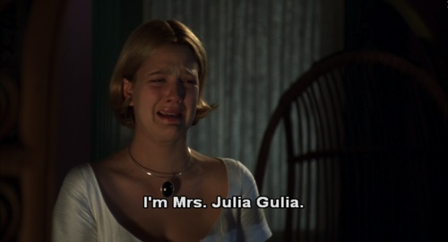 Julia Gulia- all time favorite!! May even go watch it right now ;)