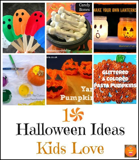 10 halloween ideas kids love halloween crafts for toddlershalloween - Toddler Halloween Craft Ideas