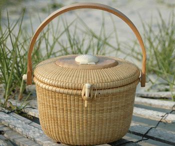 ..Nantucket Basket,   my great aunt used to make these.  she lived on Nantucket too.