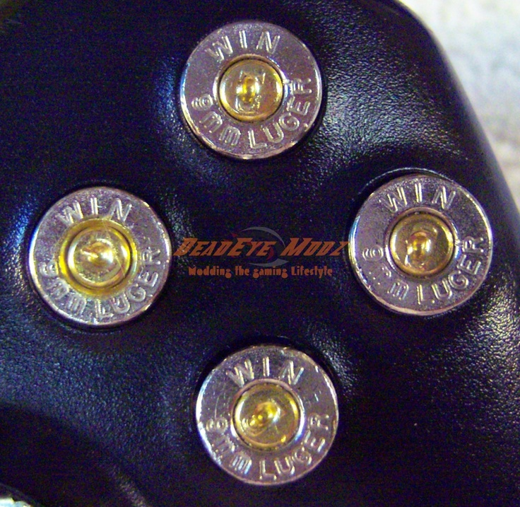Nickel Bullet Abxy And Guide Buttons For Xbox 360 Controller