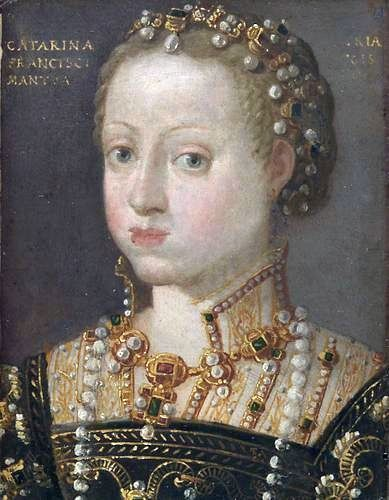 Portrait of Catherine of Austria (1533-1572), Queen of Poland. c 1550's