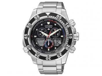 Relógio Masculino Citizen TZ28119T - Anadigi Resistente à Água Cronógrafo Calendário