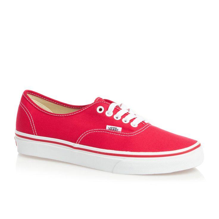 Vans Zapatos - Vans Authentic Zapatos - Red                                                                                                                                                                                 Más