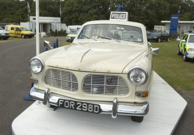 A 39 year old Volvo 121 Amazon , which first came into service with the Hampshire and Isle of Wight Constabulary in May 1966, has been lovingly restored .