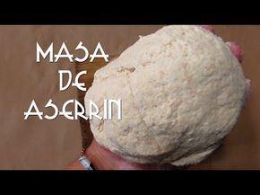 COMO HACER ARCILLA DE ASERRÍN/MASA/PASTA/FLEXIBLE/FACIL/CURIOART - YouTube