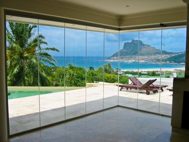 Clearview Folding Stacking Glass Doors Tag Window