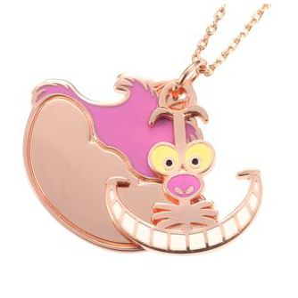 Jewelry/Necklaces: Cheshire Cat Necklace; from Disney's Alice in Wonderland