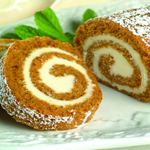 Libbys Pumpkin Roll. I've made this and its great and I can't go a year without making it. the family won't let me