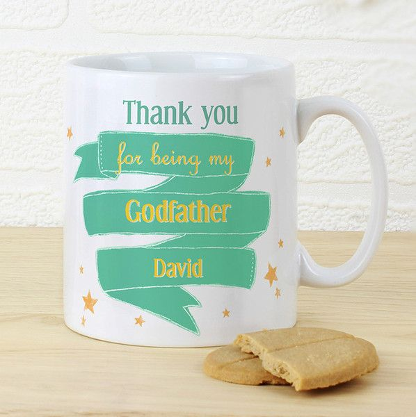 A permanent reminder of how special someone is.  Personalise the front & back of this mug.  £10