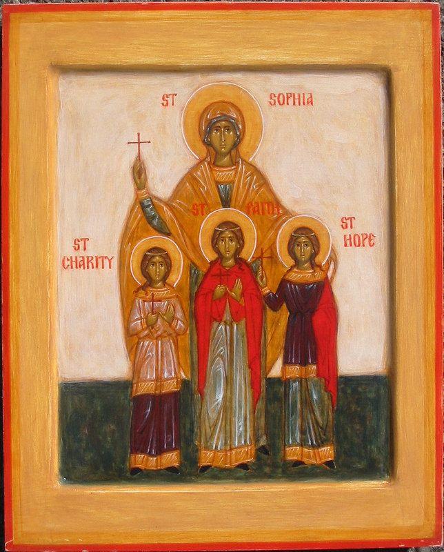 Sts. Sophia, Faith, Hope, and Charity