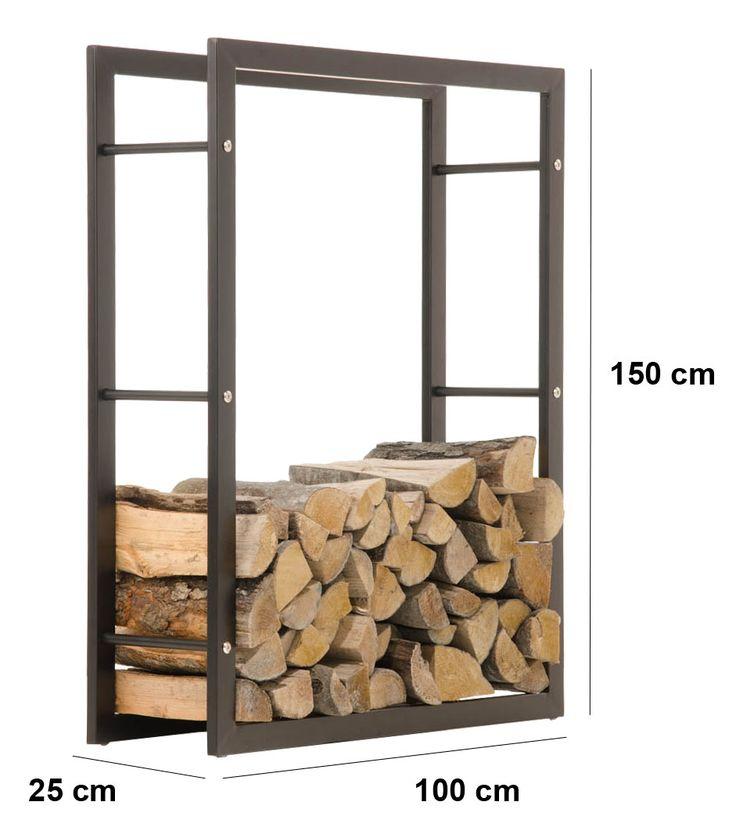 Brennholzregal selber bauen  Die besten 20+ Schuppen lagerung Ideen auf Pinterest | Brennholz ...