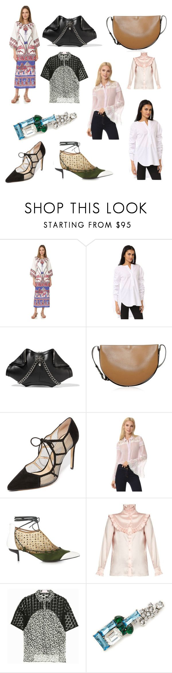 """""""Style jackpot"""" by cate-jennifer ❤ liked on Polyvore featuring Figue, Georgia Alice, Alexander McQueen, Victoria Beckham, Bionda Castana, Giambattista Valli, J.W. Anderson, Yves Saint Laurent, Giamba and Marc Jacobs"""