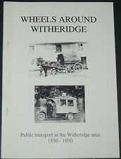 WITHERIDGE TRANSPORT HISTORY Horse Drawn Motor Vehicles Bus Buses North Devon