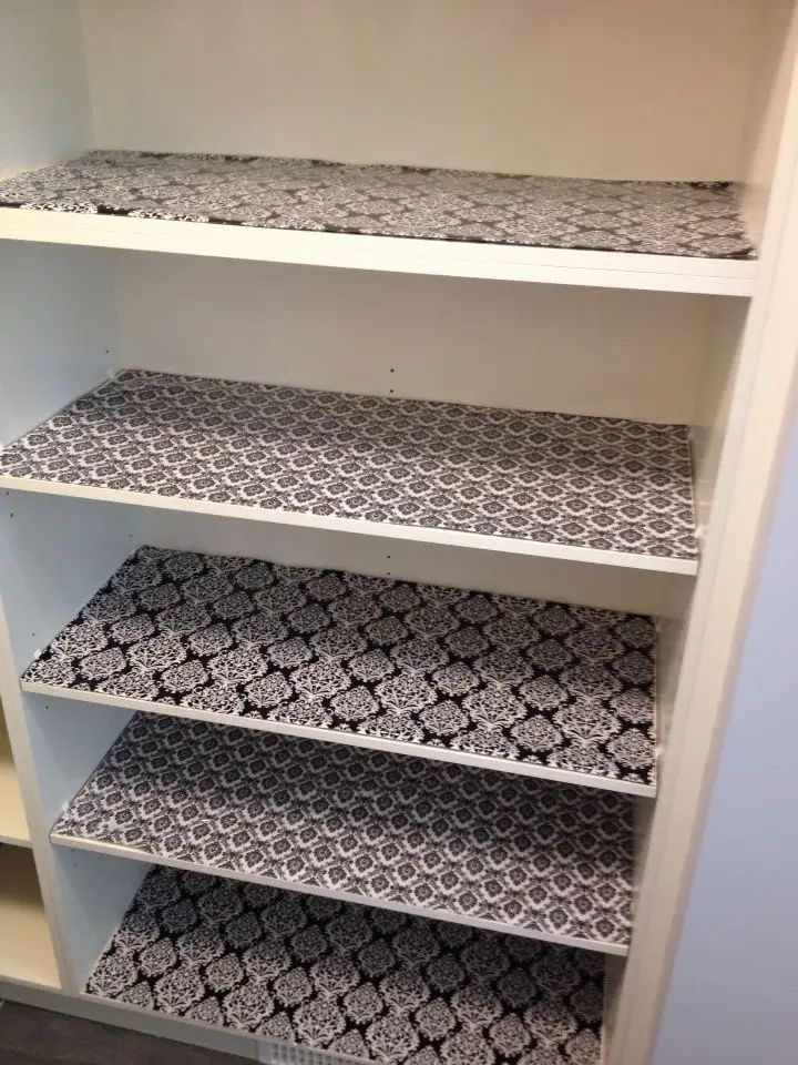 Stop Tossing Your Used Wrapping Paper Gift Wrap Here Are 50 Nifty Ways To Reuse Them At Home Kitchen Shelf Liner Kitchen Cabinet Shelves Kitchen Drawer Liners