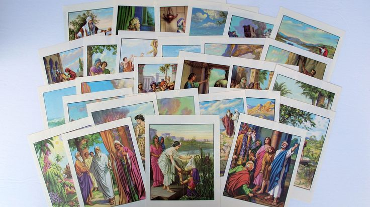 vintage Bible story illustrations for mixed media, ephemera for junk journals, smash books, art journals, collage, altered art by BurkeSevenVintage on Etsy https://www.etsy.com/ca/listing/546817533/vintage-bible-story-illustrations-for