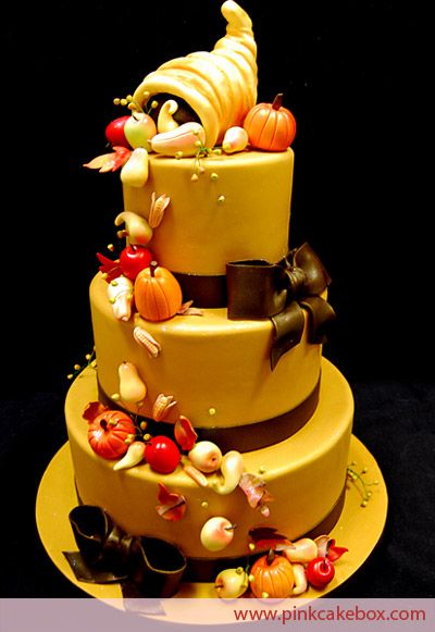 17 best ideas about thanksgiving cakes on pinterest fall for 3 tier pumpkin decoration