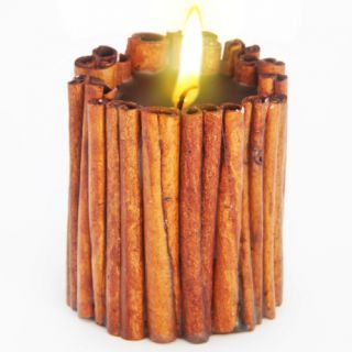 Эко свеча MAGIC LOVE с палочками корицы и эфирными маслами корицы и базилика, Chocolatte