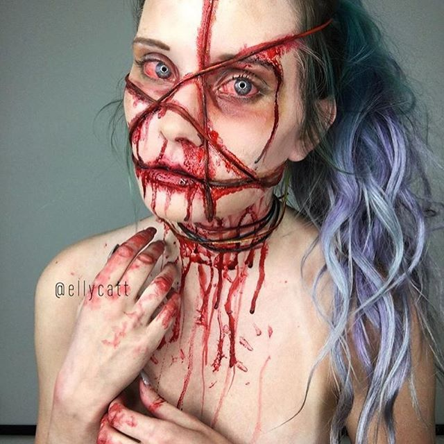 bound special effects makeup by ellycatt - Halloween Effects Makeup