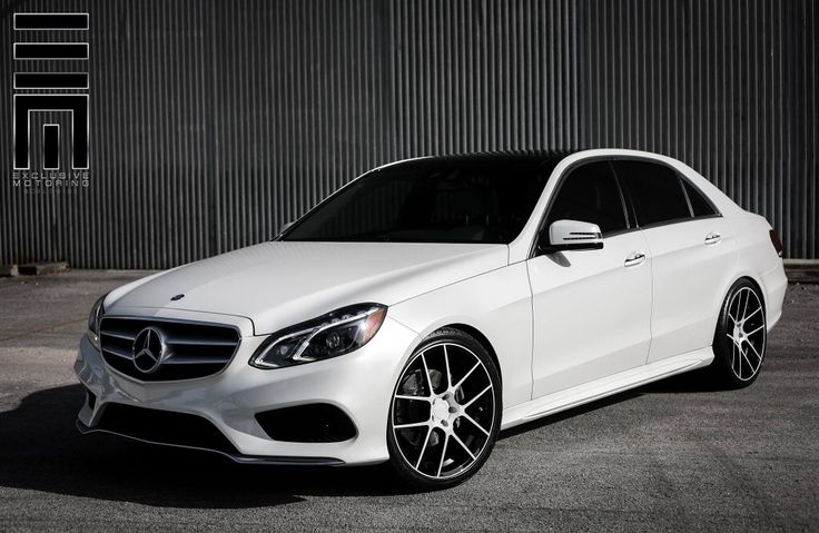 2015 White Mercedes Benz E350