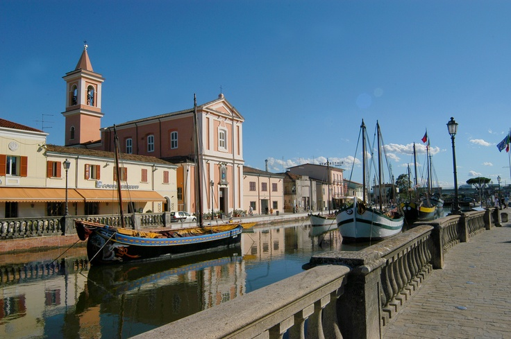 Cesenatico: canal port