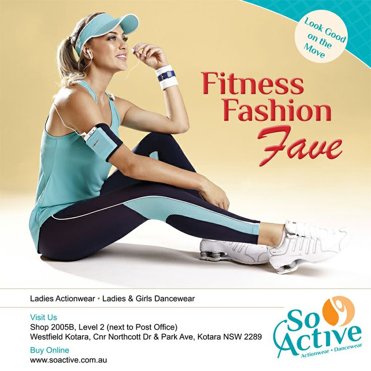 Look Good on the Move with the new range from So Active Actionwear & Dancewear