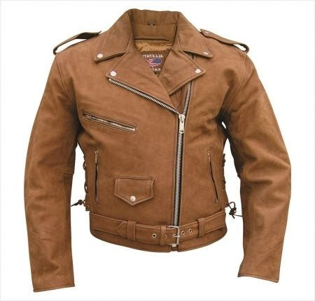 Elegant Mens Brown Leather Motorcycle Jacket Ideas