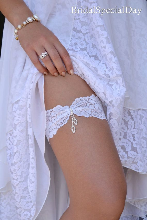 Wedding Clothing Wedding Garter Set Lace by BridalSpecialDay