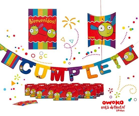 Mirá el nuevo kit de cumpleaños Owoko!